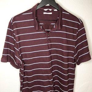 Calvin Klein men's Liquid Touch polo shirt size L